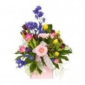 April Hand-tied Bouquet