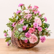 Sienna Flower Basket